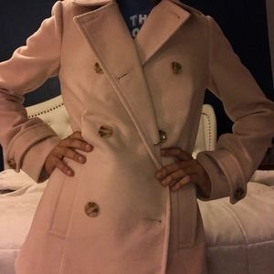 Blush Pink Trench Coat